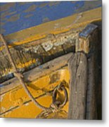 Skn 1394 Dilapidated Boats Metal Print