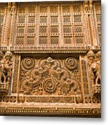 Skn 1657 Wall Architecture Metal Print