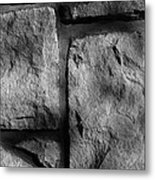 Skc 0167 Textures And Lines Metal Print