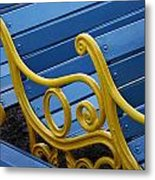 Skc 0246 Garden Benches Metal Print