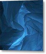Skc 0247 Mystery In Blue Metal Print