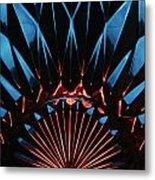 Skc 0269 Cut Glass Metal Print