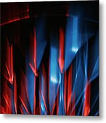 Skc 0276 Red And Blue Metal Print