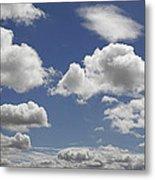 Skc 0328 The June Clouds Metal Print