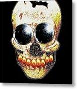 Skull Art In A Surrealism Definition Metal Print