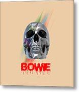 Skull Bowie  Metal Print