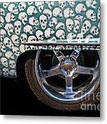 Skull Patterns Metal Print