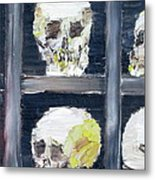 Skulls In The Crypt Metal Print
