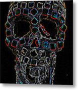 Skully Alas We Hardly Knew Ye Metal Print