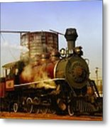 Skunk Train Metal Print