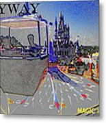 Skway Magic Kingdom Metal Print