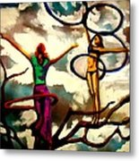Sky Above Me Earth Below Me Fire Within Me...... Metal Print