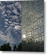 Sky And Building Metal Print by Gary Eason