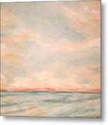 Sky And Sea Metal Print by Debi Starr