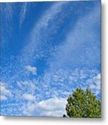Sky Blue Summer Art Metal Print