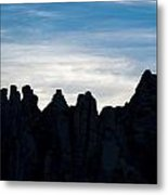 Sky Castles - The Mojave Metal Print