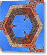 Sky Fortress Progression 10 Metal Print