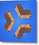 Sky Fortress Progression 2 Metal Print