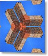 Sky Fortress Progression 4 Metal Print