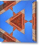 Sky Fortress Progression 9 Metal Print