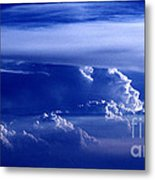 Sky From Above - 5026 Metal Print