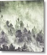 Sky Joins The Earth Metal Print