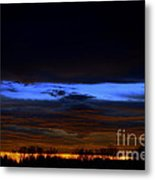 Sky Layers Metal Print