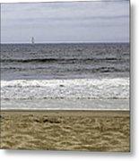Sky Sea Surf And Sands Metal Print