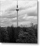 Sky Over Berlin Metal Print