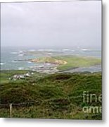 Sky Road Clifden Ireland Metal Print