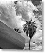 Sky-ward Palm Springs Metal Print by William Dey