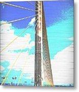 Skybridge Metal Print