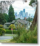 Skyline From Magnolia 2 Metal Print
