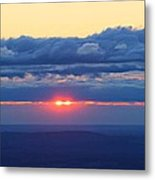 Skyline Sunrise Metal Print