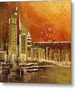 Skyline View  Metal Print