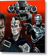 Skynet Vs Ocp Metal Print