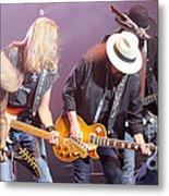 Skynyrd-group-7638 Metal Print