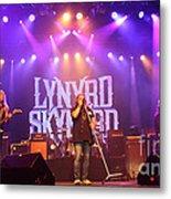 Skynyrd-group-7820 Metal Print