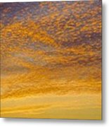Skyscape - Rocky Gold Metal Print