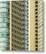 Skyscraper Closeup Metal Print