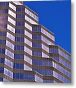 Skyscraper Photography - Downtown - By Sharon Cummings Metal Print
