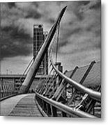 Skywalk Metal Print by Hugh Smith