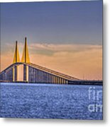 Skyway Bridge Metal Print