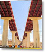 Skyway Highway Metal Print