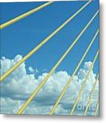 Skyway To The Clouds Metal Print