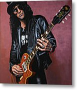 Slash Metal Print by Paul Meijering