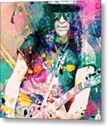 Slash Metal Print by Rosalina Atanasova