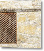Slatted Window Metal Print