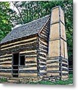 Slave Cabin Metal Print