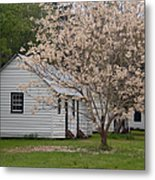Slave Cabins At Magnolia Plantation - Summerville Sc Metal Print